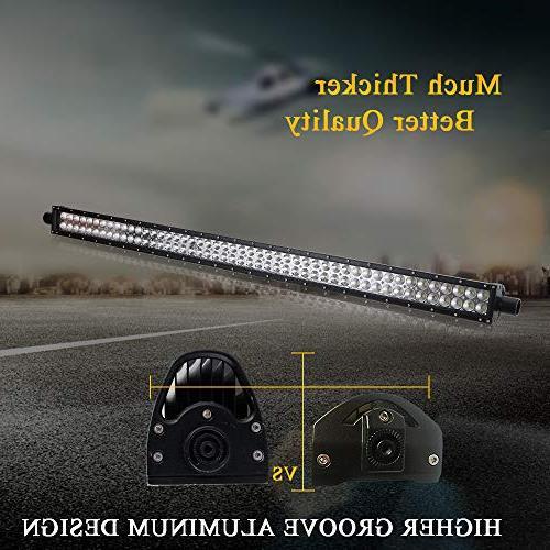 Light Bar Grill Windshield Light + Offroad Led Rocker Switch + 1x Wiring Harness Boat GMC UTV Polaris