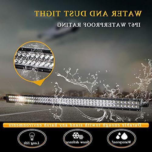 DOT Inch Led Light Bar Windshield Bumper Light + 4Inch Fog Light Rocker Wiring for Truck Ford Toyota Tundra Boat GMC Polaris