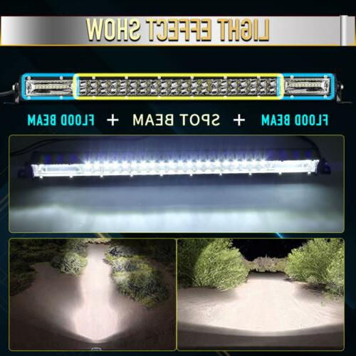20Inch 630W Work Light Combo Flood Spot Truck SUV 4WD