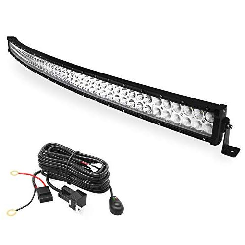 inch curved work light bar