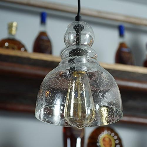 Lanros Industrial Lights Seeded Bell Dining Bars and Shops,
