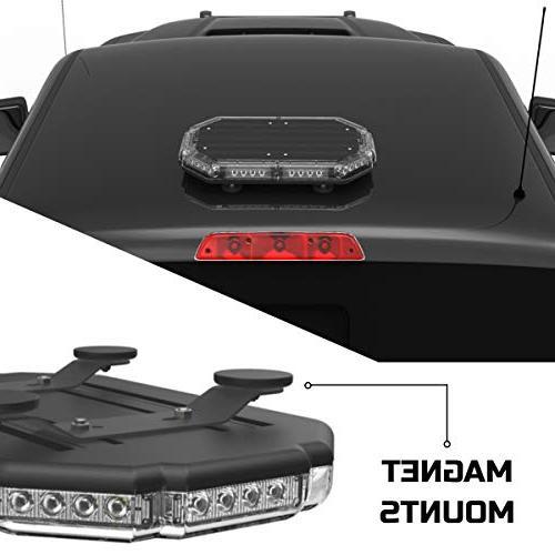 "SpeedTech 18"" Emergency Warning Mini Light Roof Mount Strobe Light Emergency Vehicles"