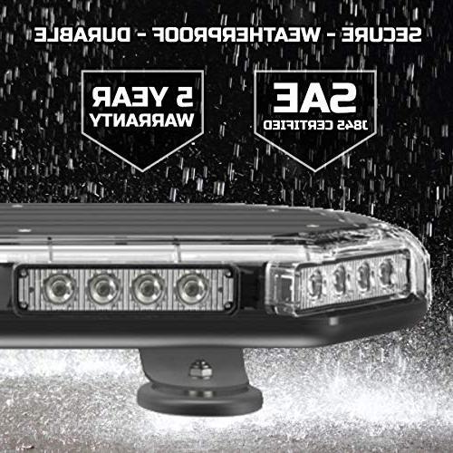 """SpeedTech Lights 18"""" Emergency Mini Light Bar Magnetic Light for Emergency"""