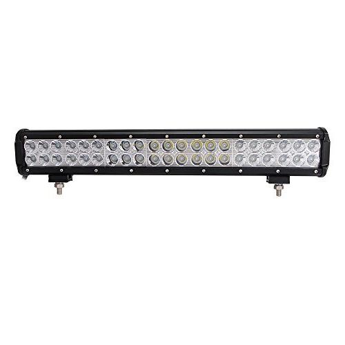 LED Light 20'' Combo 10FT Fuse Wiring Harness, Spot Led Pods Lights, Bright, Jeep Boat Tractor Off 1 Year