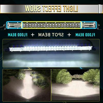LED Bar 20Inch 180w Spot Flood Bar Off