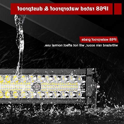 LED Light Bar 22Inch 20000LM Upgrated Led Work Light for Offroad Driving Fog Boating & Flood Combo Beam Light Warranty