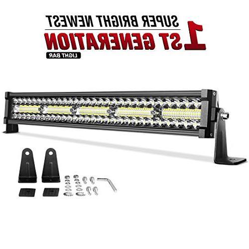 led light bar 22inch 300w triple row