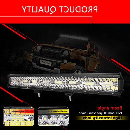 Autofeel Light 23 2PCS 36W Triple Row Combo Beam Led Driving for Ford Year