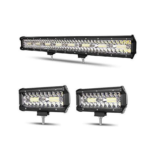 led light bar 23 inch 297w 2pcs