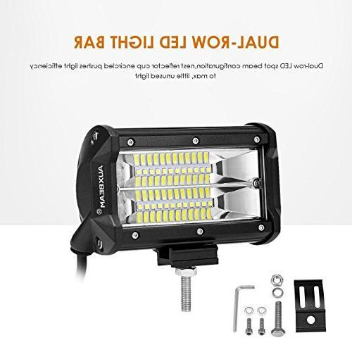 led light bar 5 led pods flood