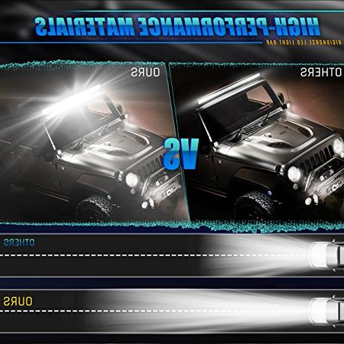 Rigidhorse Light 5 inch 600W 35000LM Flood Combo Light LED Driving Light Jeep Pickup SUV UTV 5 Year Warranty