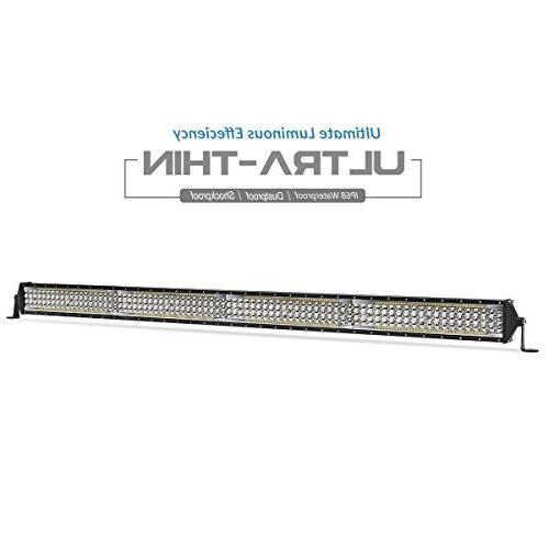 led light bar 5 row 40 inch