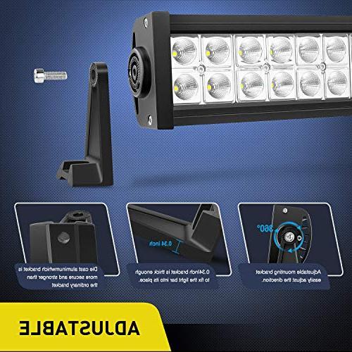 LED Light Bar 52Inch LED Work Light Spot LED Led Driving Off-Road Off-road UTV, Years Warranty