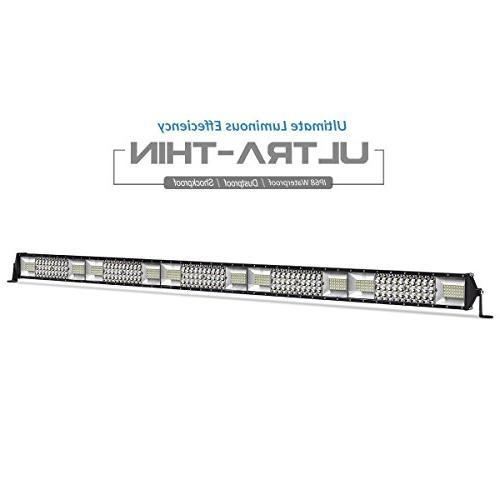 led light bar quad row 50 inch