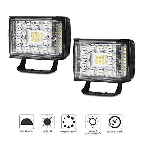 led light pods 2pcs 48w 4 inch