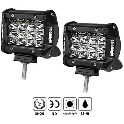 LED Triple Row 2 4 50W Spot Fog