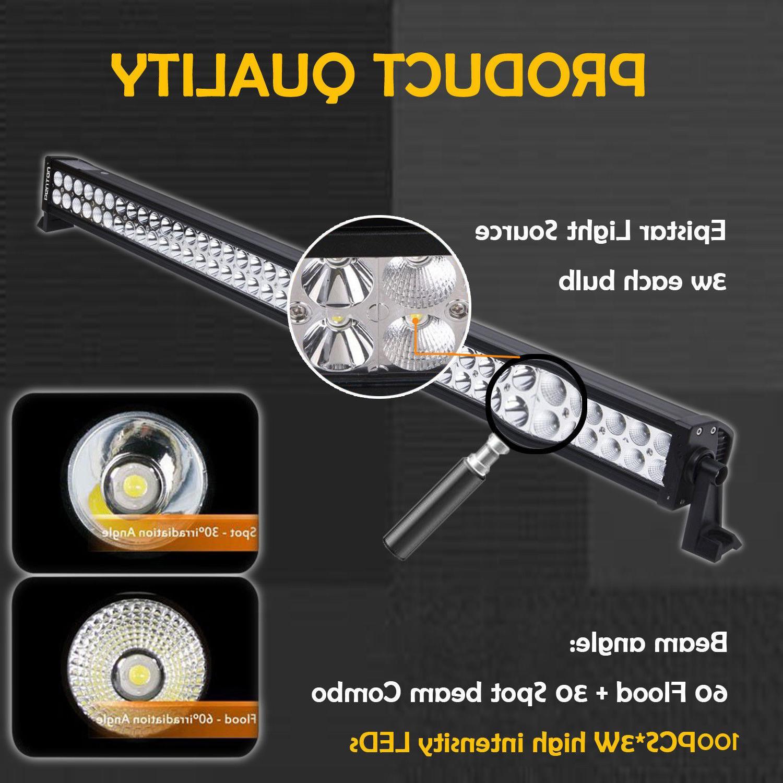 52Inch LED Light Bar Combo + CREE SUV 50