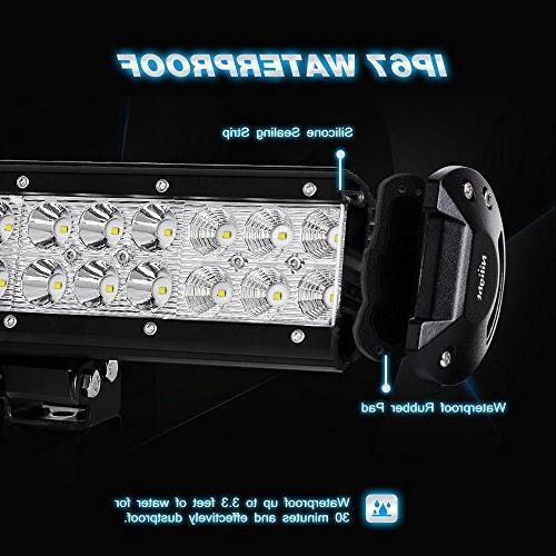 Nilight LED Bar Flood Bar Driving Fog Lamp