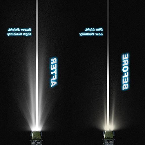 Nilight Inch LED Bar Spot Flood Combo Beam Light Bar Road Fog Lamp 4x4