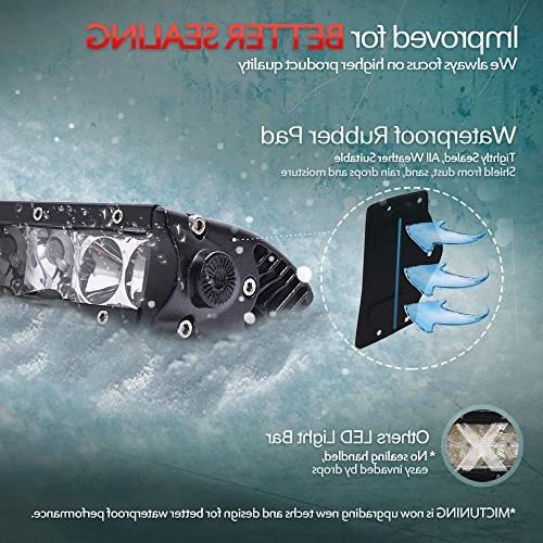 "MICTUNING MIC-5DP50, SR-Mini Series 11"" Lights Spot/Flood Beam lm for 4x4 Road Polaris Razor ATV SUV UTV"