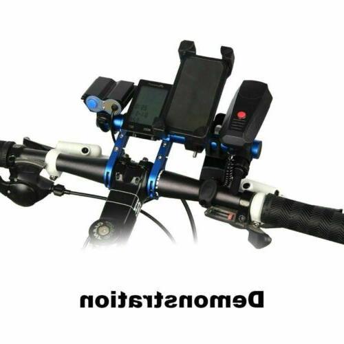 MTB Bike Flashlight Holder Handle Bicycle Accessories Extender Mount