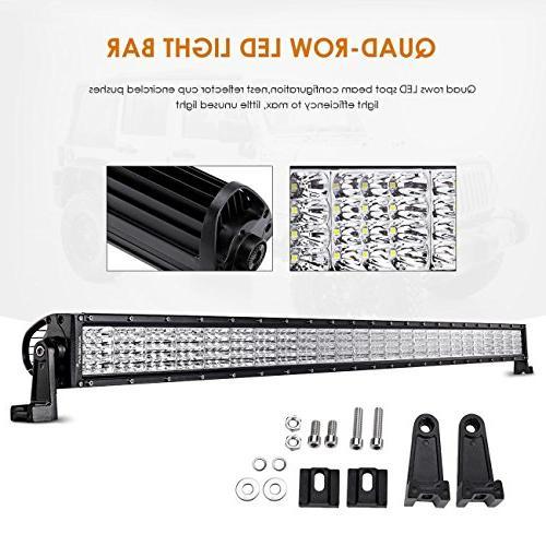 quad beam series 52 led light bar