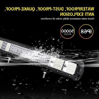 QUAD 23INCH LED LIGHT FLOOD TRUCK SUV