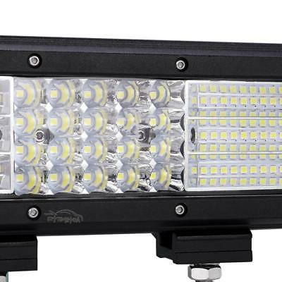 "Quad Led Bar Spot Flood Truck 14"" 15"