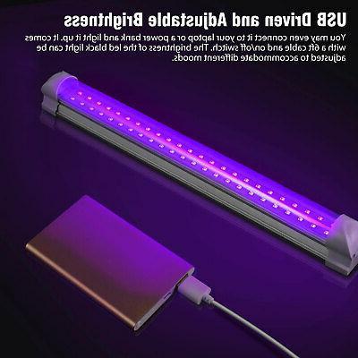 40 LED Black Light UV Light Bar LED