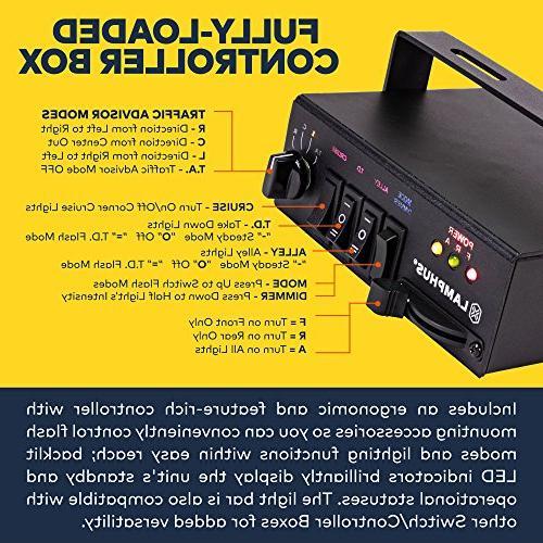LAMPHUS SolarBlast SBFB98 98W Emergency Full-Size Rooftop Light