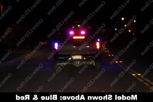 Strobe Warning Lights for Police & Firefighter -