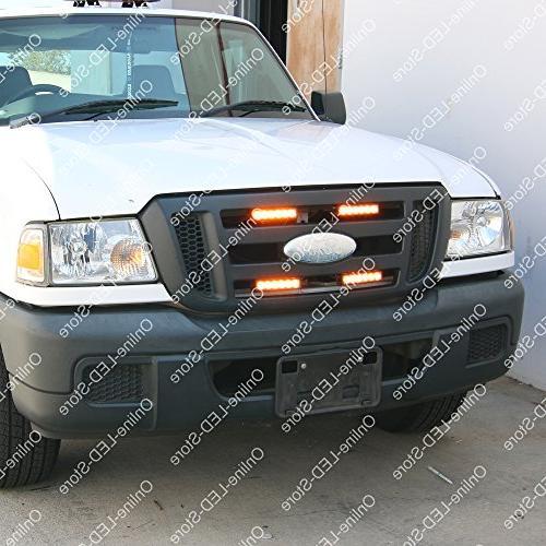 LAMPHUS SBLH06 Strobe Grille Warning for Police & Firefighter -