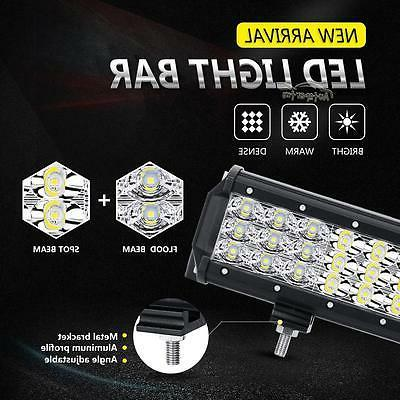 Tri-Row Inch Led Work Combo Truck UTE ATV 23
