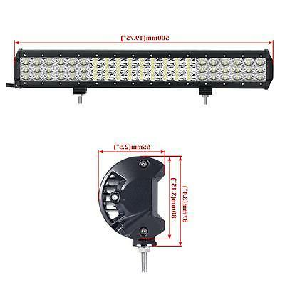 Tri-Row Led Light Combo Truck UTE ATV 23