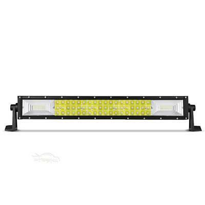 "Tri Row LED Light Offroad Driving Fog Pickup 24"" 20"""