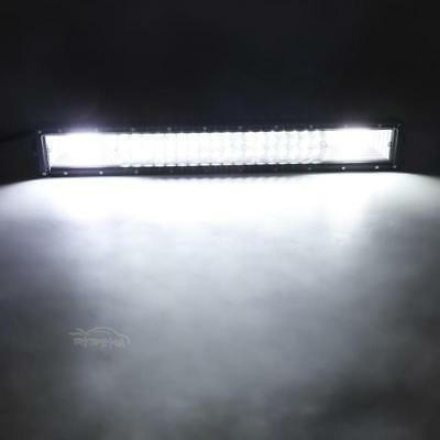 Tri Row LED Light Bar Combo Offroad Lamp Pickup