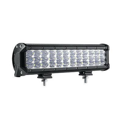 "Tri-Row 360W Light Bar Spot Flood Offroad for Jeep Truck ATV UTE 14"""