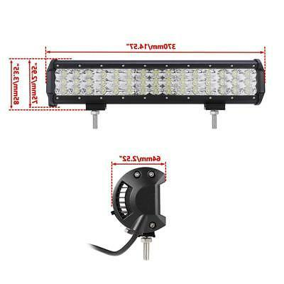 TRIPLE ROW CREE LED BAR SPOT FLOOD COMBO DRIVING