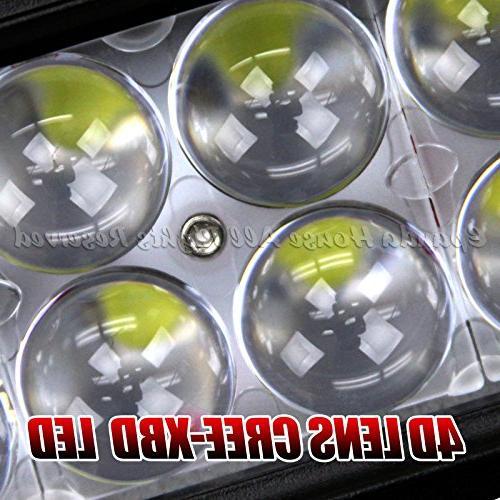"Universal 32"" XBD Lens Projectors 16200Lm Spot/Flood Usa"
