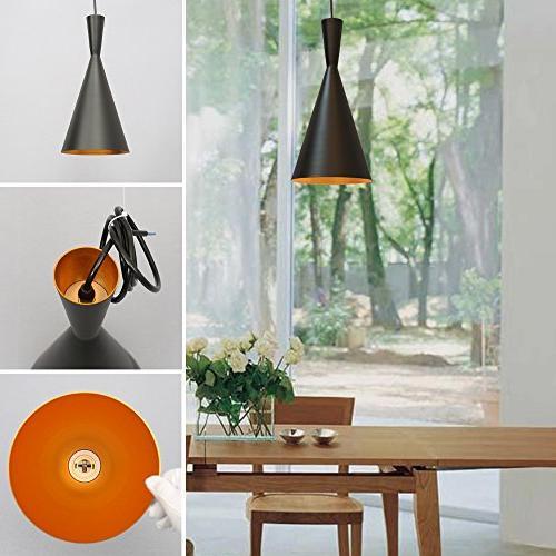 Vintage Metal LED Industrial Lighting Black Lamp