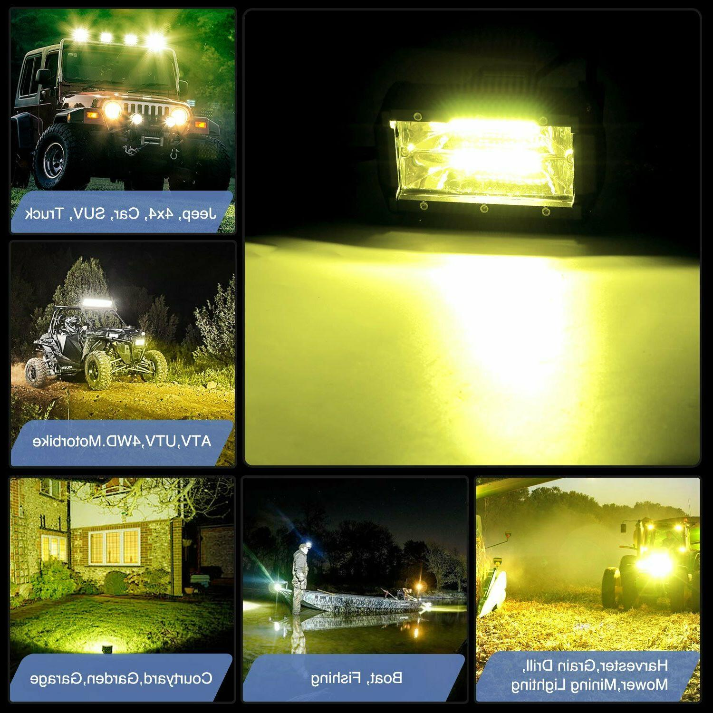 NILIGHT LED Light Off Road Lights Boat