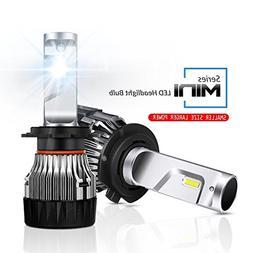 Led Headlight Bulbs,Rigidhorse H7 Mini Led Headlights 6500K