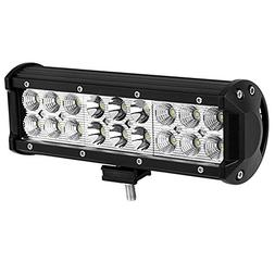 Led Light Bar YITAMOTOR 1 X 54W 9 inch Led Light Pod Spot Fl