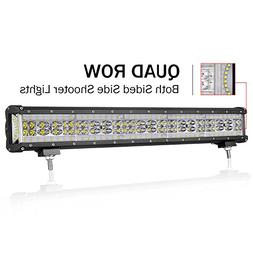 LED Light Bar, OFFROADTOWN 20 inch 312W Quad Row Side Shoote