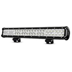 LED Light Bar Nilight 23 Inch 144w LED Work Light Spot Flood
