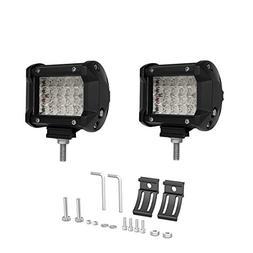 LED Light Bar Rigidhorse 2PCS 4Inch 36W 4 Row Spot Led Drivi