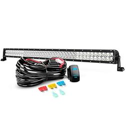 LED Light Bar Nilight 42 Inch 240W Spot Flood Combo Led Bar