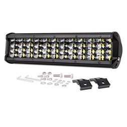 Led Light Bar AutoPowerPlus 12'' 144W Quad Row LED Pods Off