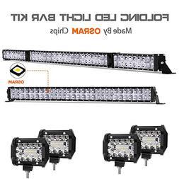 LED Light Bar Kit, Autofeel 84000LM 6000K OSRAM Chips 52 Inc