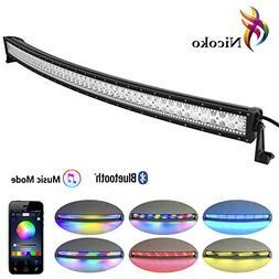 led light bar nicoko 52 inch 300w